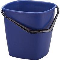 DURABLE Putzeimer BUCKET, 9,5 Liter, rechteckig, blau