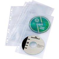 DURABLE CD-/DVD-Hülle COVER LIGHT S, für 4 CD, s, PP