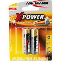 ANSMANN Alkaline Batterie , X-Power, , Mignon AA, 2er Blister