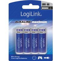 LogiLink Alkaline Batterie , Ultra Power, , Mignon (AA/LR6)