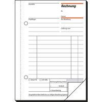 sigel Formularbuch , Rechnung, , A6, 2 x 40 Blatt, SD