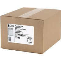 GPV Versandtaschen, C5, 162 x 229 mm, braun, Gewicht: 90 g