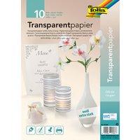 folia Transparentpapier, DIN A4, 115 g/qm, weiß