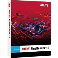 ABBYY FineReader 14 Corporate,1 User, WIN, Vollversion, Download