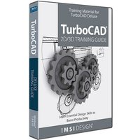 2D/3D Training TurboCAD Deluxe 2020, English
