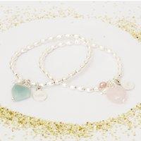 Ava Children's Heart Personalised Friendship Bracelet