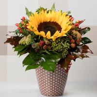 Blumenstrauß mit Sonnenblume