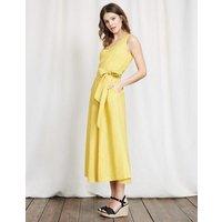 Riviera Dress Mimosa Yellow Women Boden, Mimosa Yellow