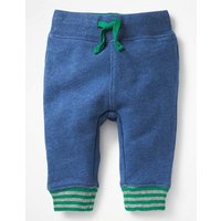 Essential Jersey Trousers Blue Boys Boden, Blue