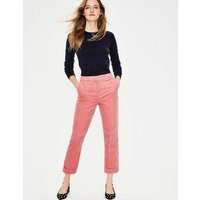 Cord Straight Leg Trousers Pink Women Boden, Pink