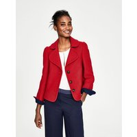 Horsell Jacket Red Women Boden, Navy