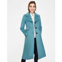 Farleigh Coat Blue Women Boden, Blue