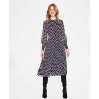 Alba Midi Dress Navy