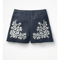 Nadia Shorts Blue Women Boden, Blue