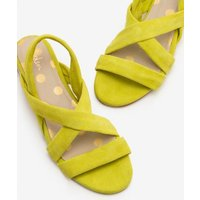 Ava Espadrille Sandals Yellow Women Boden, Yellow