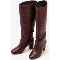 Albemarle Heeled Boots Purple