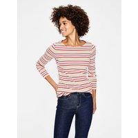 Long Sleeve Breton Pink Women Boden, Multicouloured