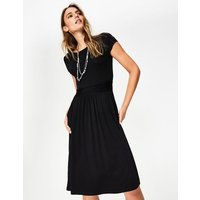Amelie Jersey Dress Black