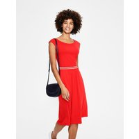 Bernice Jersey Dress Red Women Boden, Red