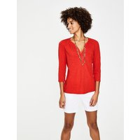 The Cotton Notch Tee Red Women Boden, Red