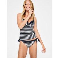 Tie Bikini Bottoms Navy/Ivory Stripe Women Boden, Navy/Ivory Stripe