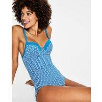 Milos Cup-size Swimsuit Blue Women Boden, Blue