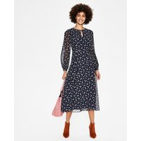 Ada Midi Dress Navy