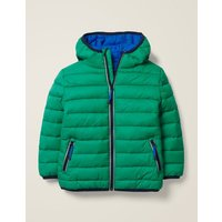 Pack-away Padded Jacket Green Boys Boden, Green