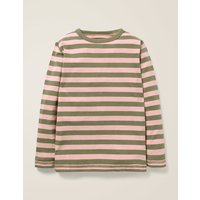 Essential Supersoft T-shirt Pink Boys Boden, Green