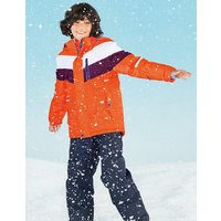 All-Weather Waterproof Jacket Orange Boys Boden, Orange