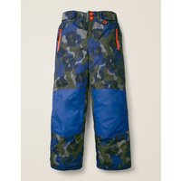 All-Weather Waterproof Trouser Khaki Boys Boden, Blue