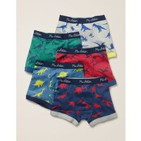 5 Pack Boxers Grey Boys Boden, Grey