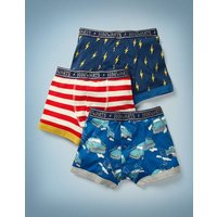 3 Pack Harry Potter Boxers Multi Boys Boden, Multicouloured