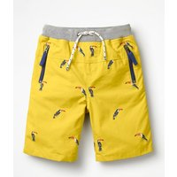 Adventure Shorts Yellow Boys Boden, Yellow