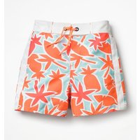 Poolside Shorts Green Boys Boden, Orange