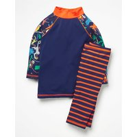 Surf Suit Multi Boys Boden, Blue