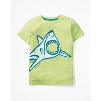Glow-in-the-light T-shirt Yellow Boys Boden, Yellow