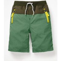 Adventure Shorts Green Boys Boden, Green