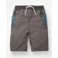 Adventure Shorts Grey Boys Boden, Grey