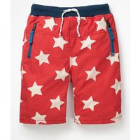 Adventure Shorts Red Boys Boden, Beige