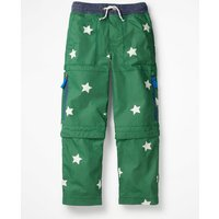 Zip-off Techno Trousers Green Boys Boden, Green