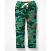 Warrior Knee Sweatpants Khaki Boys Boden, Khaki