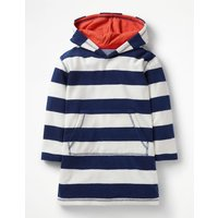 Towelling Throw-on Navy Boys Boden, Blue