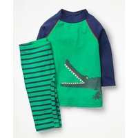 Surf Suit Green Boys Boden, Green