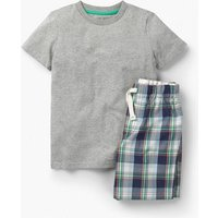 Short Pyjama Set Blue Boys Boden, Navy