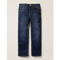 Adventure-flex Straight Jeans Denim Boys Boden, Black