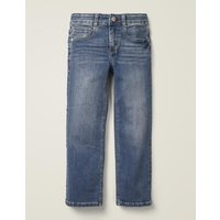 Adventure-flex Straight Jeans Denim Boys Boden, Denim