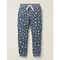 Cosy Lined Joggers Grey Boys Boden, Grey