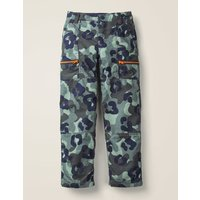 Lined Skate Trousers Grey Boys Boden, Blue