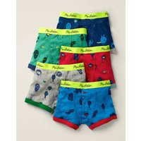 5 Pack Boxers Green Boys Boden, Green